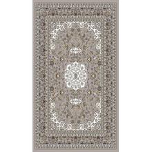 "Persian Design 1 Million Point Heatset Monalisa 5016 Area Rugs by Rug Factory Plus - 2'8"" x 10' / Gray"