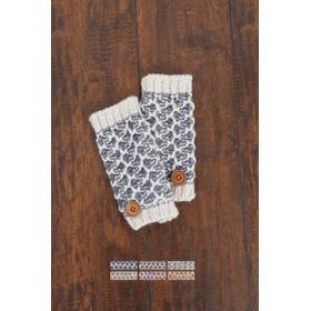WB Nantucker Wrist Warmers w/ Buttons (12 pr. ppk.)
