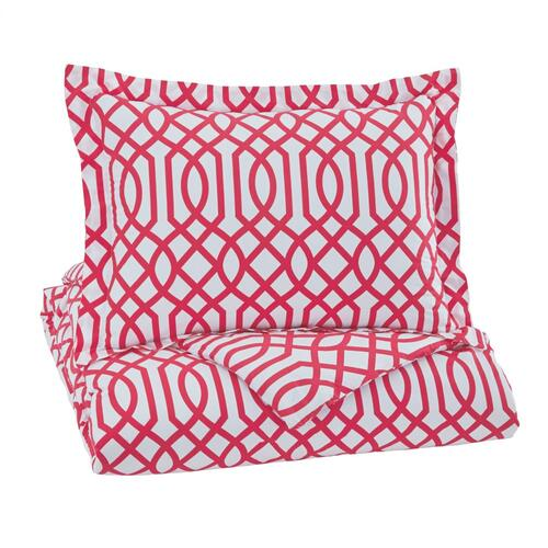 Signature Design By Ashley - Loomis 2-piece Twin Comforter Set