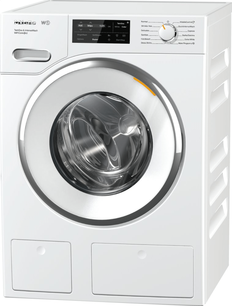 MieleWwh 860 Wcs Pwash & Tdos & 8kg - W1 Front-Loading Washing Machine With Quickintensewash, Twindos, Capdosing, And Wificonn@ct.