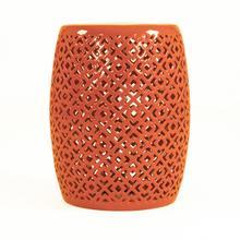 See Details - Lorin Garden Stool Orange