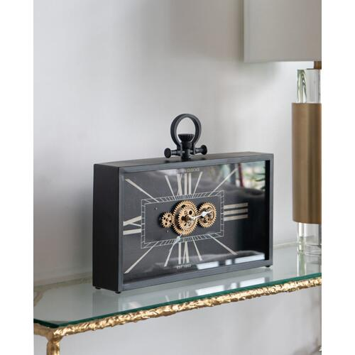 A & B Home - Gears Table Clock