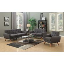 See Details - Daphne Gray Sofa, Loveseat & Chair, SWU6928