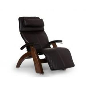 Perfect Chair ® PC-420 Classic Manual Plus - Espresso Premium Leather - Walnut