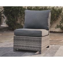 View Product - Salem Beach Armless Chair w/Cushion (1/CN) Gray