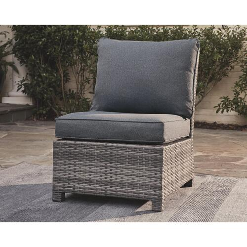 Salem Beach Armless Chair With Cushion