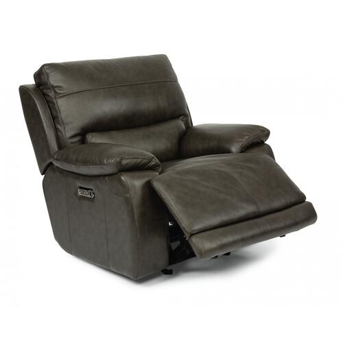 Horizon Power Gliding Recliner with Power Headrest