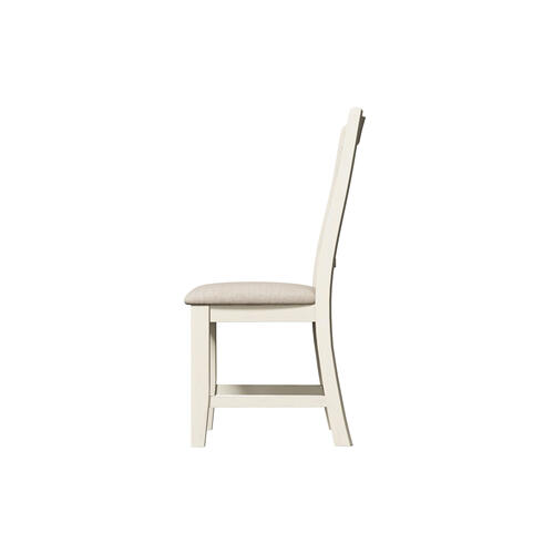 Buchanan Upholstered Dining Chair, Whitewash 1147-311-s