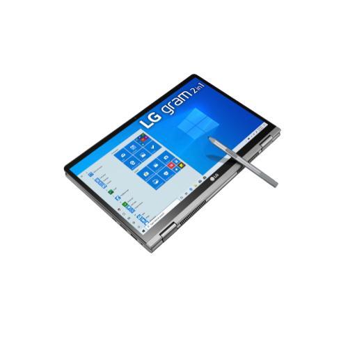 LG - LG gram 14'' i7 Processor 2-in-1 Ultra-Lightweight Laptop