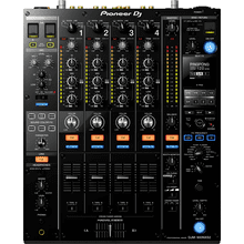 4-channel professional DJ mixer (black)