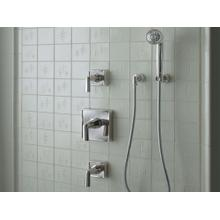 Air-Induction 2.0 GPM Showerhead with Arm - Nickel Silver