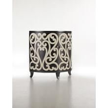 See Details - Scrollwork Demilune Chest-Floor Sample-**DISCONTINUED**