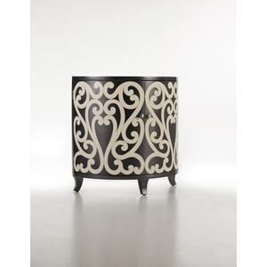Hooker Furniture - Scrollwork Demilune Chest-Floor Sample-**DISCONTINUED**