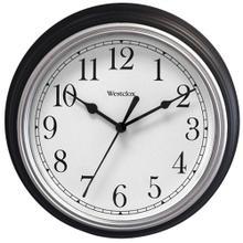 "9"" Decorative Wall Clock (Black)"