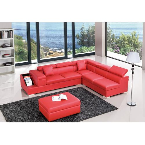 Divani Casa T306 - Modern Leather Sectional Sofa