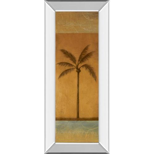 "Classy Art - ""Golden Palm I"" By Jordan Grey Mirror Framed Print Wall Art"
