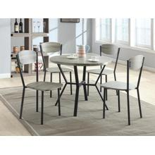 Blake 5 Piece Grey Dining Set