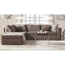 Angora Tabby Sectional with Left Facing Chaise/Right Facing Sofa