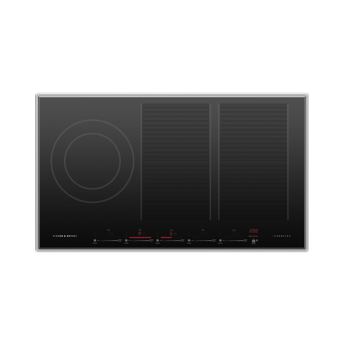 "Induction Cooktop, 36"", 5 Zones, with SmartZone"