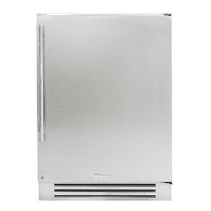 True Residential24 Inch Overlay Panel Door Right Hinge Undercounter Refrigerator