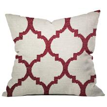 PILLOW-MOROCCAN RED