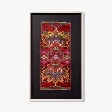 See Details - 0351760021 Vintage Rug Fragment Wall Art