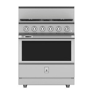 "Hestan30"" 4-Burner Dual Fuel Range - KRD Series - Steeletto"