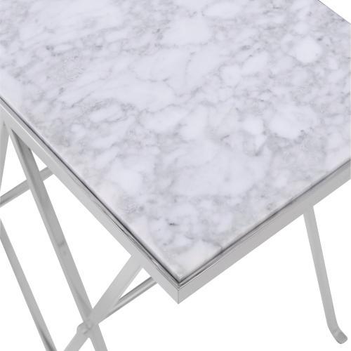 Trellis End Table