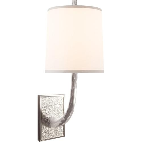 Visual Comfort BBL2030SS-S Barbara Barry Lyric Branch 1 Light 8 inch Soft Silver Decorative Wall Light