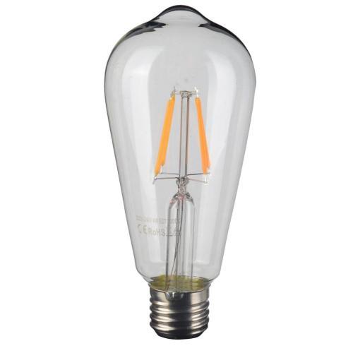 A & B Home - Filament LED Amber Bulb