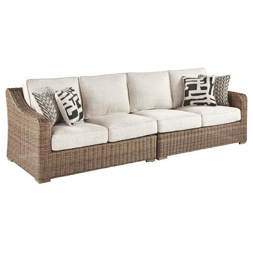 Beachcroft Left-arm Facing Loveseat/right-arm Facing Loveseat