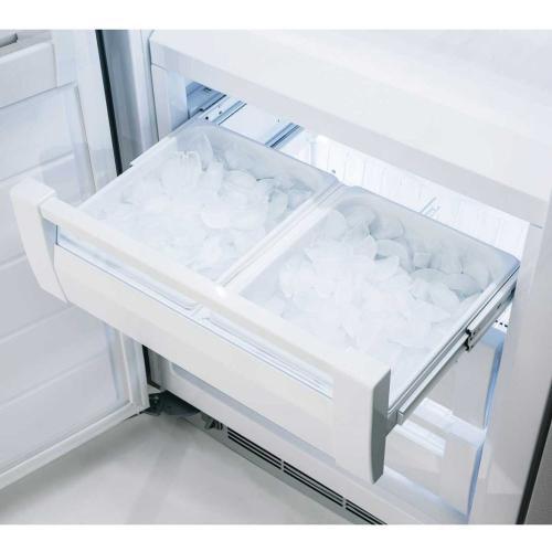 "Marvel Professional Built-In 30"" All Freezer - Solid Stainless Steel Door - Left Hinge, Slim Designer Handle"