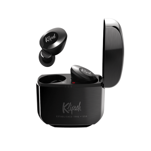 Klipsch - T5 II True Wireless ANC Earphones - Gunmetal
