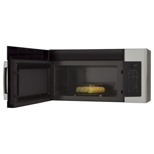 GE Appliances - GE® 1.8 Cu. Ft. Over-the-Range Microwave Oven with Recirculating Venting