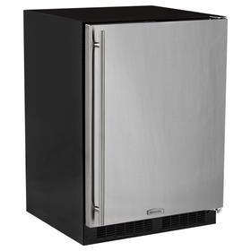 24-In Built-In All Freezer with Door Style - Stainless Steel, Door Swing - Right