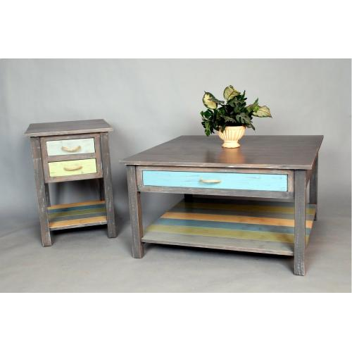 """#493 Weston Coffee Table 35""""wx35""""dx20""""h"""