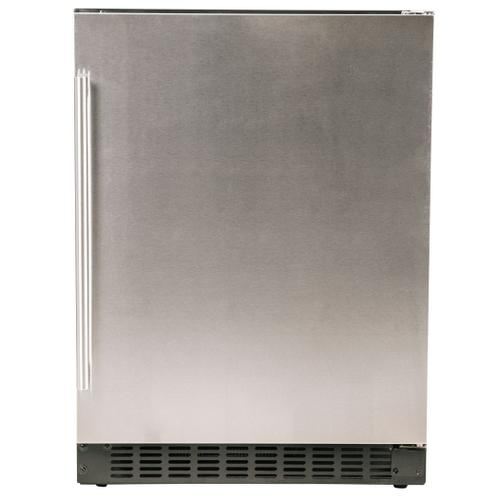 "Refrigerator 1.0 - 24"" Solid Stainless Door"