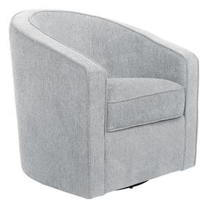 Danh14 In By Office Star In Grandview Wa Danica Swivel Chair In Smoke Fabric