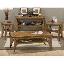Honey Creek Oak Sofa Table