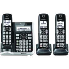 See Details - Link2Cell® Bluetooth® Cordless Phone with Answering Machine (3 Handsets)