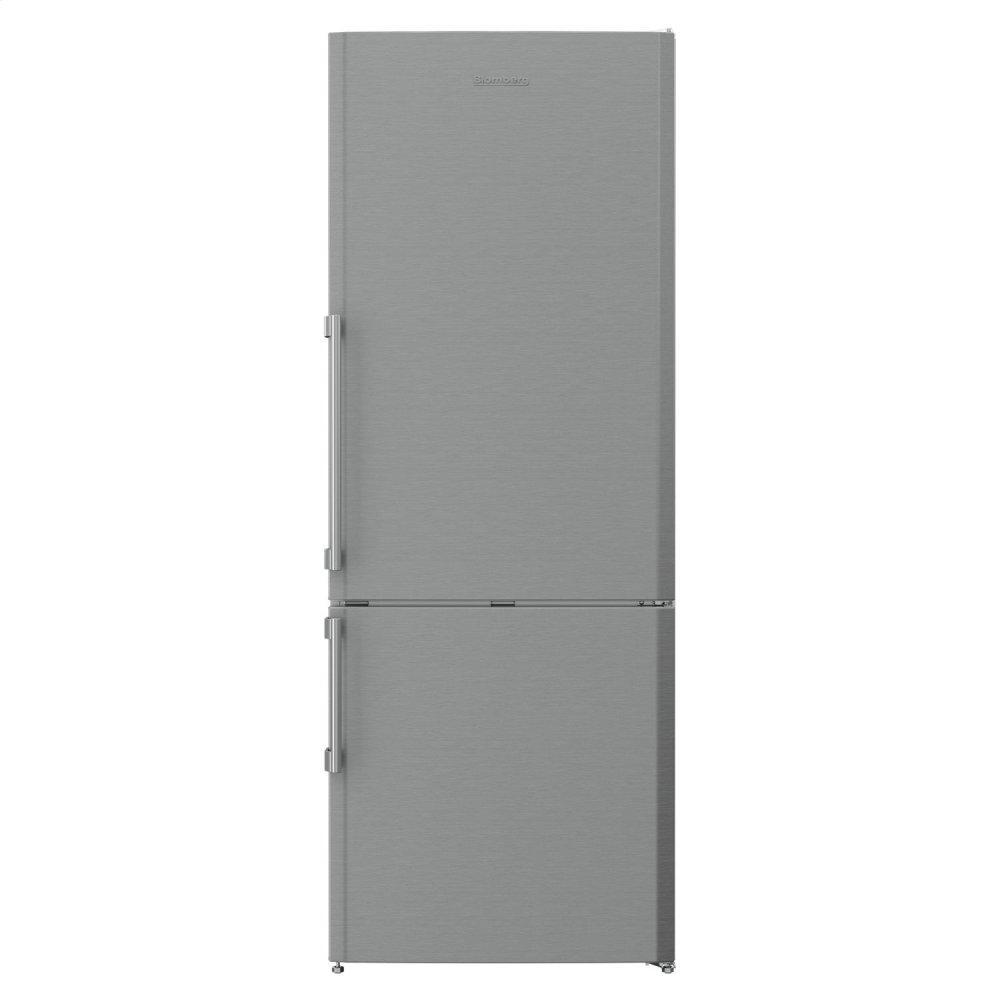 Blomberg Appliances27in 15 Cuft Bottom Freezer Fridge, Stainless Steel