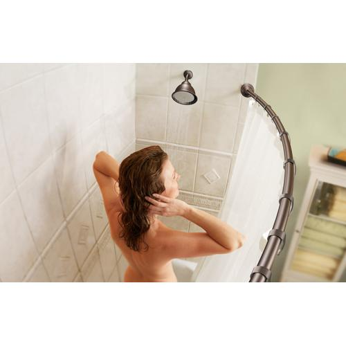 Product Image - Curved Shower Rods Old world bronze 5' curved shower rod