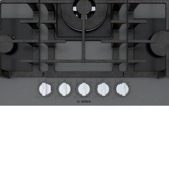 Benchmark™ Gas Cooktop 30'' Tempered glass, dark silver NGMP077UC