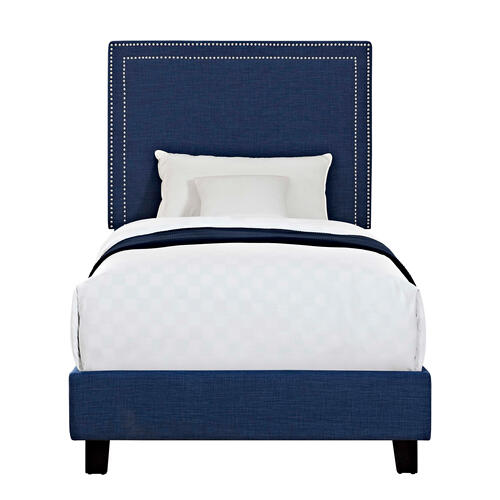 Erica Upholstered Twin Platform Bed