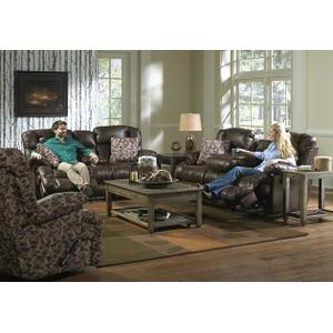 "Power ""Lay Flat"" Rec Sofa w/DDT"