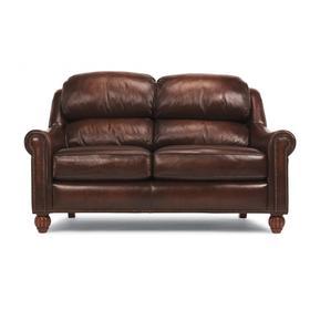 Wayne Leather or Fabric Loveseat