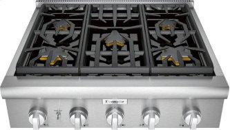 Professional Rangetop 30'' Stainless steel PCG305W