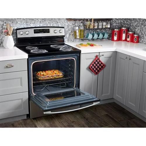 Product Image - 1.6 Cu. Ft. Over-the-Range Microwave with Add 0:30 Seconds - white