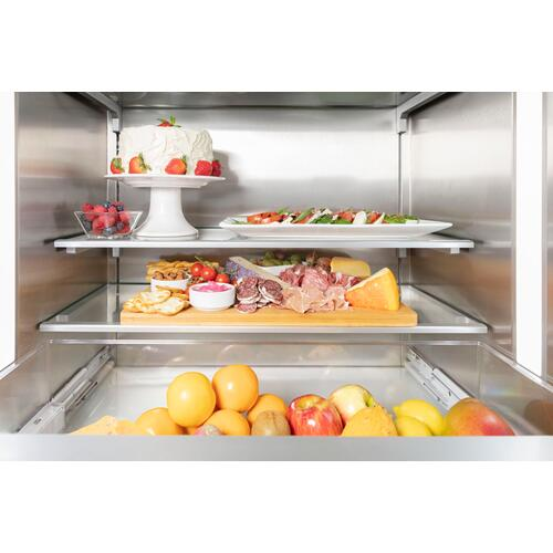 Built-in Two Door Bottom Freezer 36'' Professional T36BB925SS