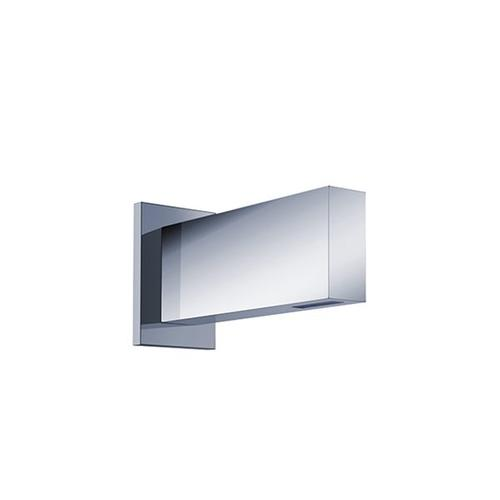 """opus2 in-wall basin filler, square trim 7"""" spout"""